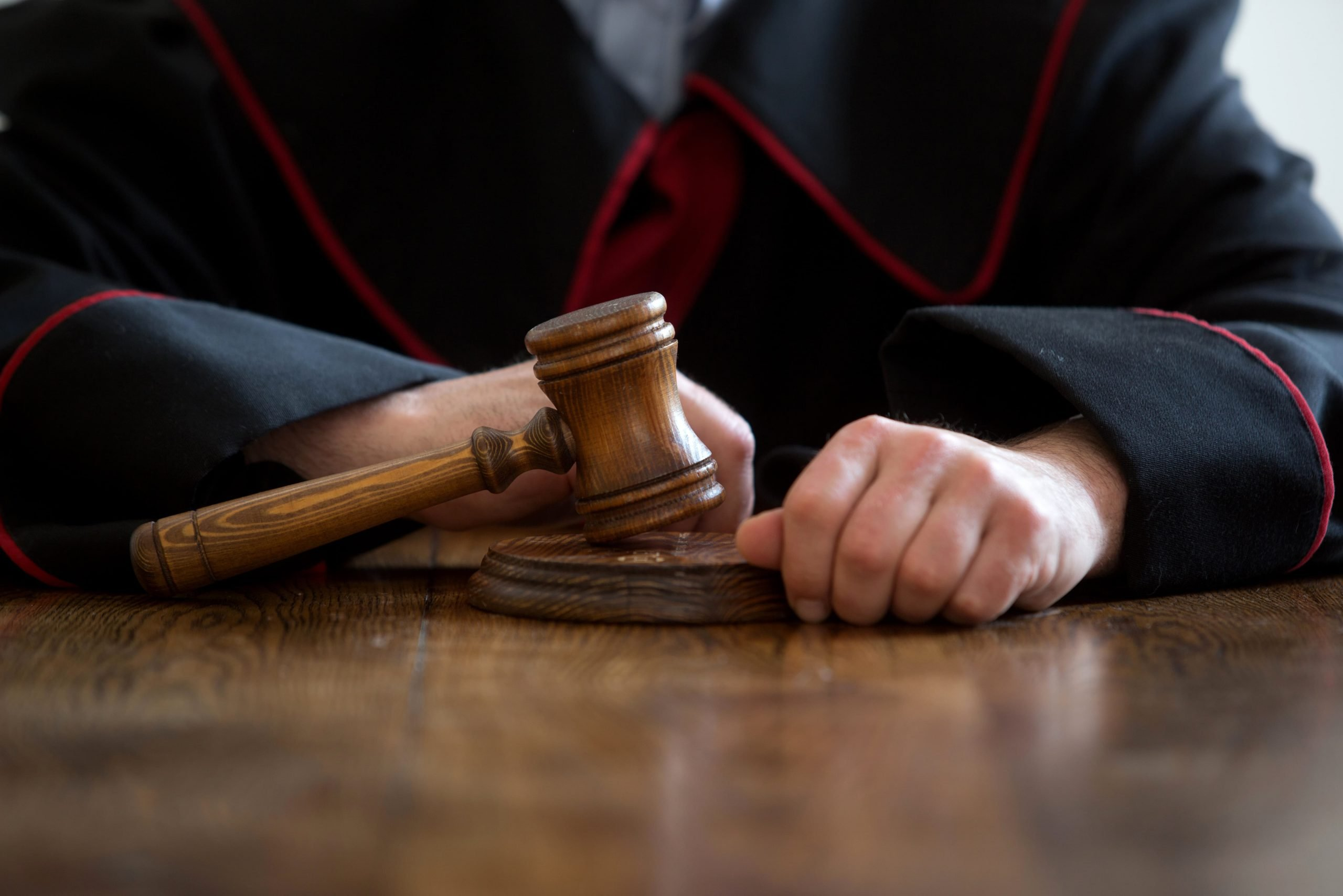 What are the stages of the court process