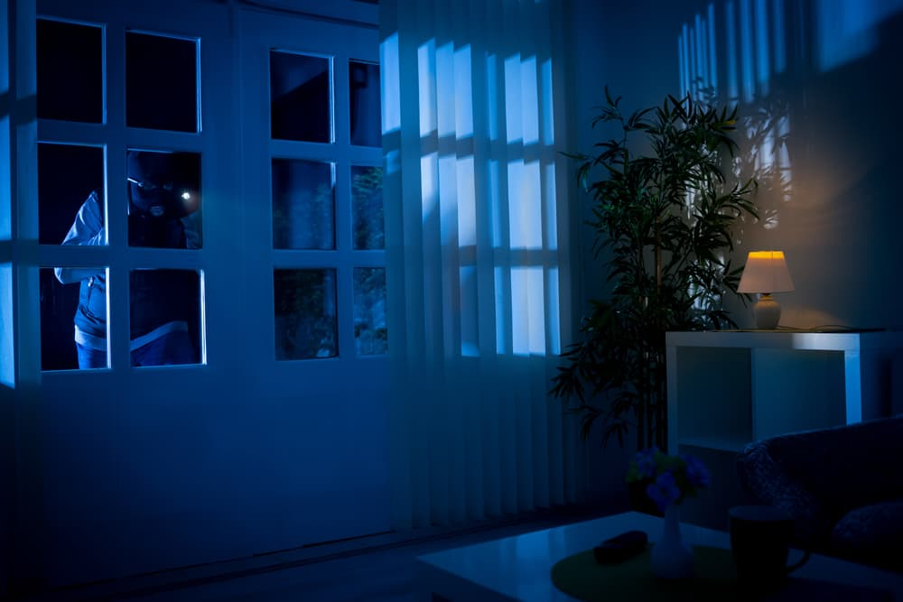 What are the possible penalties for burglary in California